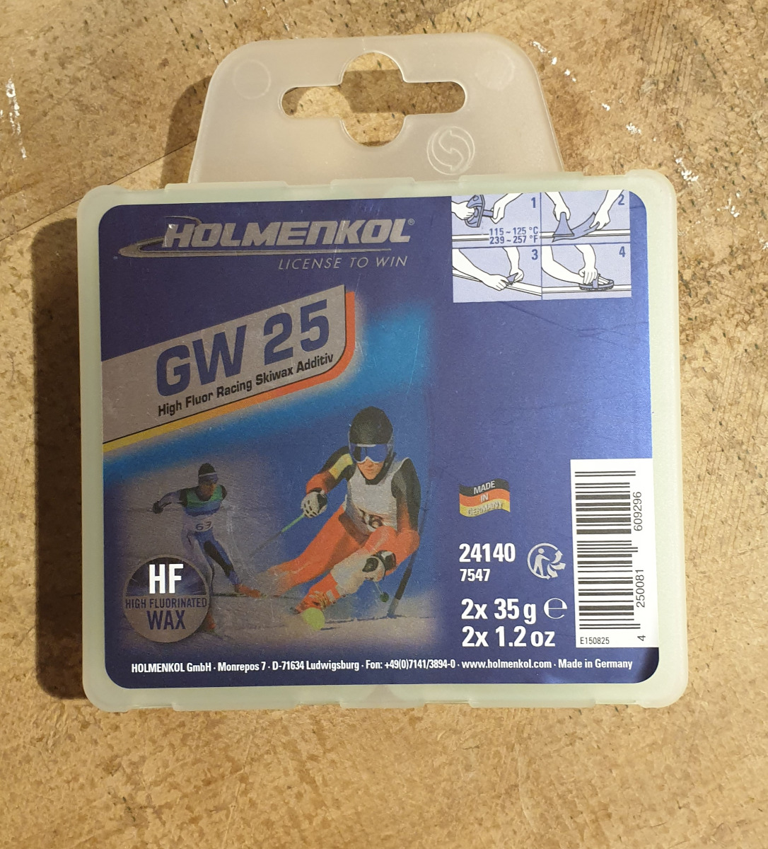 Produktbild Holmenkol GW 25